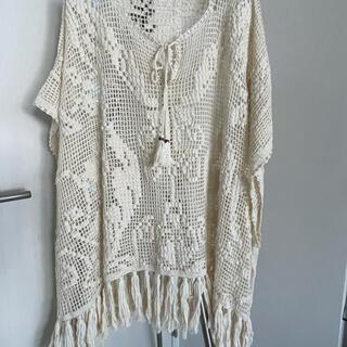 グレースコンチネンタル(GRACE CONTINENTAL)のGrace class 綿 カーディガン  羽織物(カーディガン)
