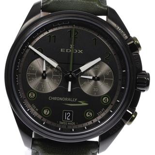 エドックス(EDOX)の☆美品 エドックス クロノラリー 09503 メンズ 【中古】(腕時計(アナログ))