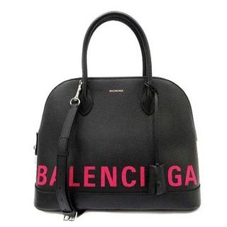 Balenciaga - バレンシアガ ヴィルトップハンドル トートバッグ ショルダーバッグ 2way 黒