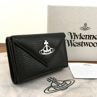 Vivienne Westwood - Vivienne Westwood コンパクトウォレット ブラック レザー 3