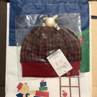 familiar - 新品 タグ付き ファミリア  ニット帽