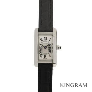 カルティエ(Cartier)のカルティエ ミニ タンクアメリカン  レディース腕時計(腕時計)