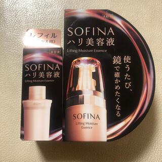 SOFINA - 新品 ソフィーナ ハリ美容液 本体+リフィルセット モイストリフト美容液