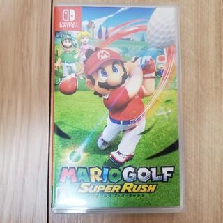 ニンテンドースイッチ(Nintendo Switch)のマリオゴルフ スーパーラッシュ Switch用ソフト(家庭用ゲームソフト)