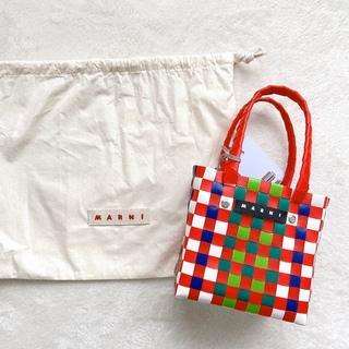 Marni - マルニマーケット 人気のかごバッグ ミニサイズ