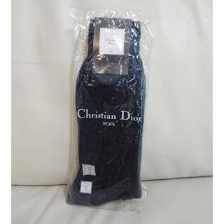 クリスチャンディオール(Christian Dior)の未使用【Dior ディオール】SPORTS スポーツ ソックス 25cmネイビー(ソックス)