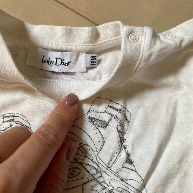 baby Dior(ベビーディオール)の長袖Tシャツ キッズ/ベビー/マタニティのベビー服(~85cm)(シャツ/カットソー)の商品写真