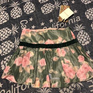 モナリザ(MONNALISA)の新品タグ付き モナリザ バルーンスカート 4歳 100サイズくらい(スカート)