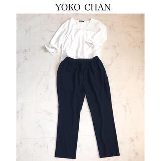 ドゥロワー(Drawer)のYOKO CHANヨーコチャン ジャンプスーツ 美品(オールインワン)