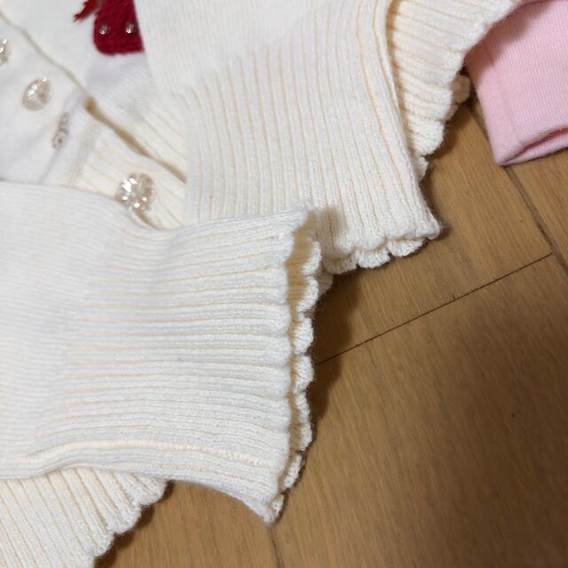 Shirley Temple(シャーリーテンプル)の専用シャーリーテンプルカーディガン 100cm キッズ/ベビー/マタニティのキッズ服女の子用(90cm~)(カーディガン)の商品写真