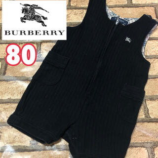 BURBERRY - 【Burberry】バーバリー baby ロンパース ノバチェック ロゴ刺繍