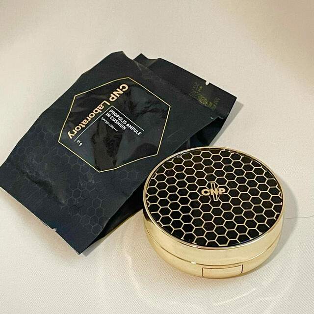 CNP(チャアンドパク)のCNP #21(ライトベージュ)プロポリスアンプルクッションファンデ コスメ/美容のベースメイク/化粧品(ファンデーション)の商品写真