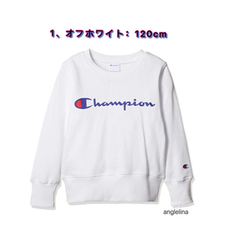チャンピオン(Champion)のチャンピオン キッズ 裏毛 プリントスウェット トレーナー 綿 120cm(Tシャツ/カットソー)