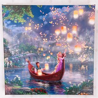 ディズニー(Disney)のトーマスキンケード ディズニー ラプンツェル ウォールアート キャンバス 絵画(絵画/タペストリー)