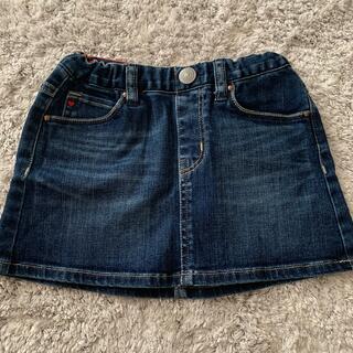 ダブルビー(DOUBLE.B)のkids スカート 100センチ ダブルビー(スカート)