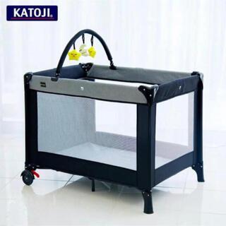 KATOJI - 新品未使用 ベビーベッド KATOJI プレイヤード NewYork・Baby2