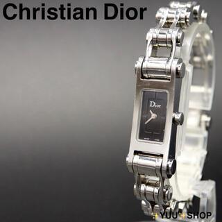 クリスチャンディオール(Christian Dior)の希少【電池新品】Christian Dior ブレス D104-100 腕時計(腕時計)