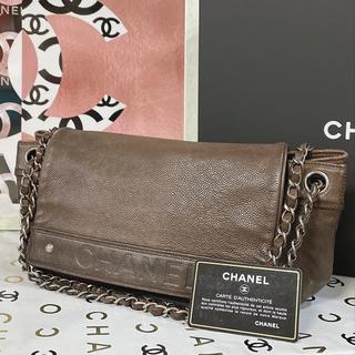 CHANEL - 【正規品】CHANEL シャネル Wチェーントートバッグ ブラウン