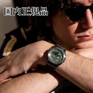 G-SHOCK - 【国内正規品】CASIO gm2100b-3ajf グリーン カシオーク