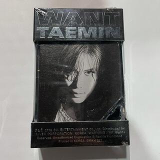 SHINee - SHINee テミン TAEMIN WANT キノアルバム