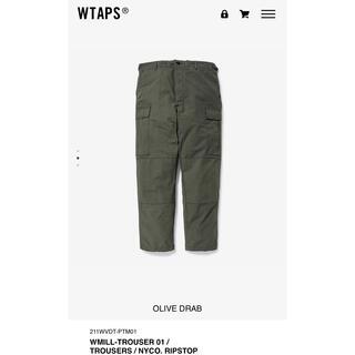 ダブルタップス(W)taps)のwtaps mill jungle stock カーゴパンツ XL buds(ワークパンツ/カーゴパンツ)