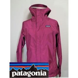 パタゴニア(patagonia)の【美品】 Patagonia トレントシェルジャケット レディース XSサイズ(ナイロンジャケット)