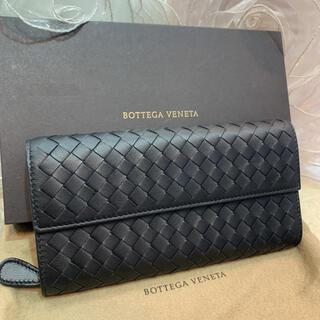 ボッテガヴェネタ(Bottega Veneta)の☆新品☆BOTTEGA VENETA ボッテガヴェネタ 二つ折り長財布 黒(長財布)