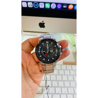 エディフィス(EDIFICE)のCASIOカシオEDIFICE EQW-A1000DB 文字盤ブラック 腕時計(腕時計(アナログ))