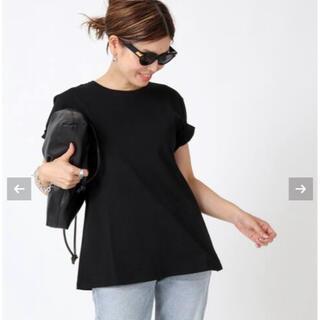 DEUXIEME CLASSE - Deuxieme Classe  CELERI/セルリ AラインTシャツ  黒