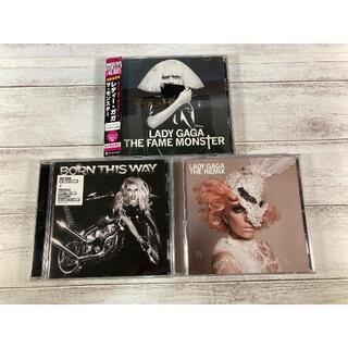 W0792 レディー・ガガ(Lady Gaga) CD アルバム 3枚セット