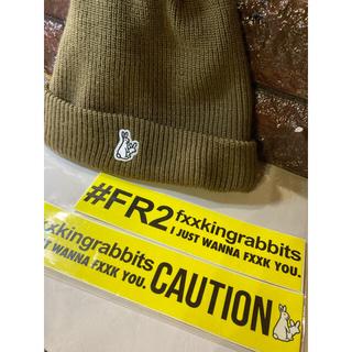 #FR2 エフアールツー ニットキャップ Made in USA ⬜︎used品(ニット帽/ビーニー)