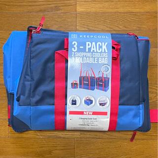 コストコ(コストコ)のCOSTCOコストコ★クーラーバッグ保冷バッグ。XLサイズ/Lサイズ 2点セット(エコバッグ)