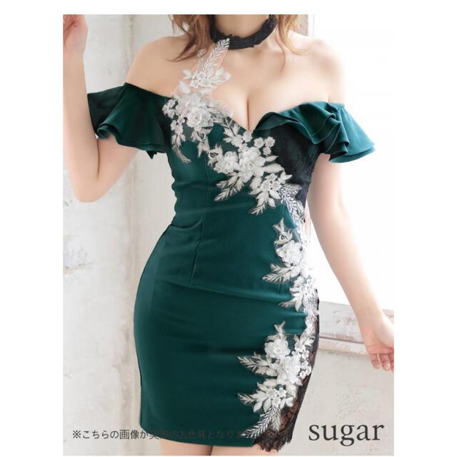 AngelR(エンジェルアール)のローブドフルールグロッシー キャバドレス レディースのフォーマル/ドレス(ナイトドレス)の商品写真