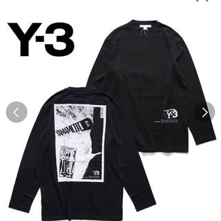 Y-3 - Y-3 ロンT 長袖 メンズ Mサイズ