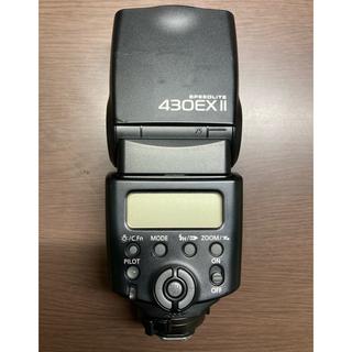 キヤノン(Canon)の【純正】CANON 430EXⅡ ストロボ スピードライト(ストロボ/照明)