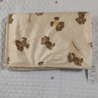 フタフタ(futafuta)のフタくま ひざ掛け毛布(おくるみ/ブランケット)