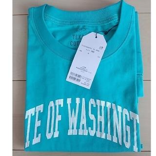 チャオパニックティピー(CIAOPANIC TYPY)のテキサスコットンカレッジプリントノースリTee CIAOPANIC TYPY(Tシャツ(半袖/袖なし))