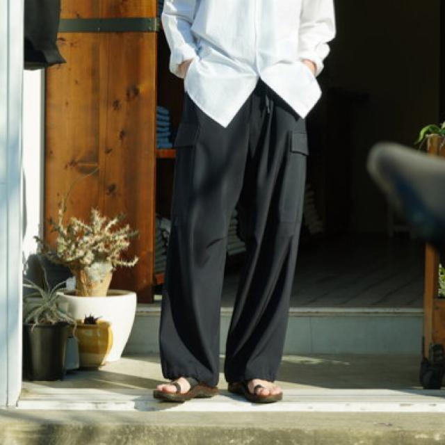 COMOLI(コモリ)のコモリ 21ss  ウールギャバ6P メンズのパンツ(ワークパンツ/カーゴパンツ)の商品写真