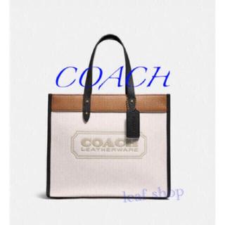 COACH - 新品 コーチ フィールド トート カラーブロック ウィズ コーチ バッジ トート