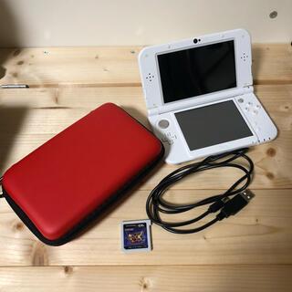 ニンテンドー3DS(ニンテンドー3DS)のニンテンドー new3dsll  本体 モンスターハンターダブルクロス付き(家庭用ゲーム機本体)