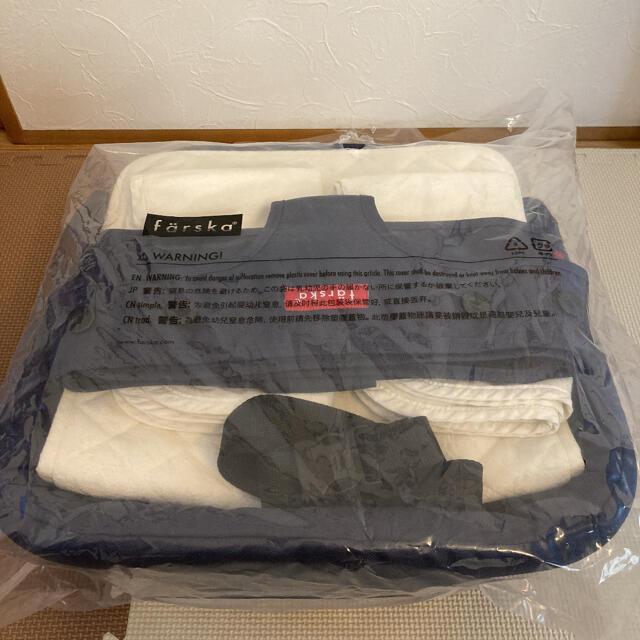 ファルスカ ベッドインベッド 防水シート付き キッズ/ベビー/マタニティの寝具/家具(ベビーベッド)の商品写真