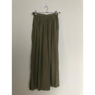 ユニクロ(UNIQLO)のUNIQLO  サテンスカートパンツ(キュロット)