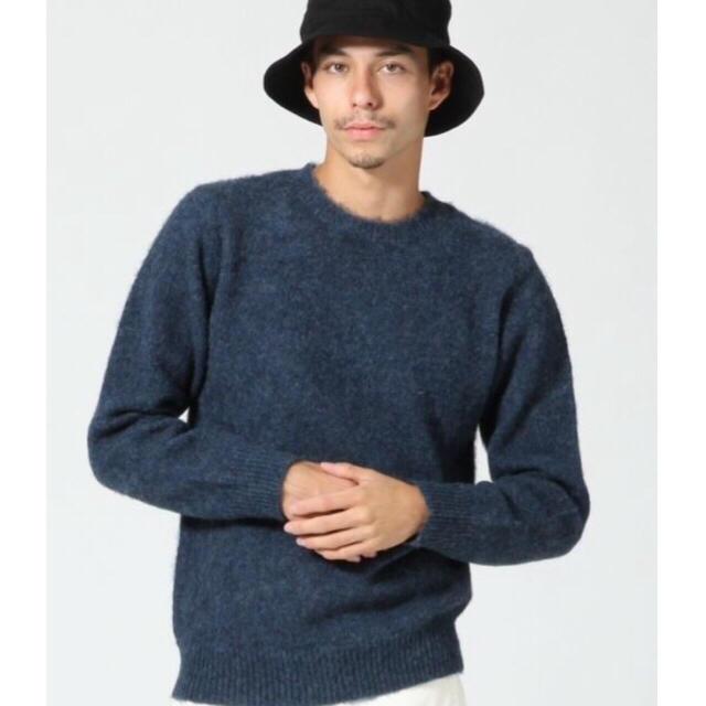 RAGEBLUE(レイジブルー)の新品■ レイジブルー ウール ニット グリーン L 緑 メンズのトップス(ニット/セーター)の商品写真
