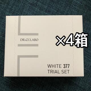 Dr.Ci Labo - WHITE377 トライアルセット 4個 アクアコラーゲンゲル 美白EX