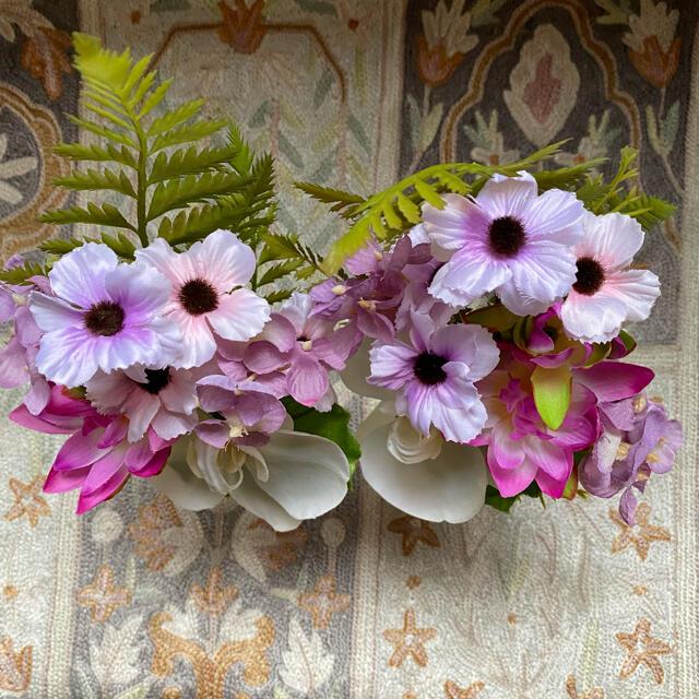 仏花☆アーティフィシャルフラワー ハンドメイドのフラワー/ガーデン(その他)の商品写真
