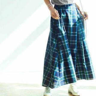 フェリシモ(FELISSIMO)のフレアーロングスカート(ロングスカート)
