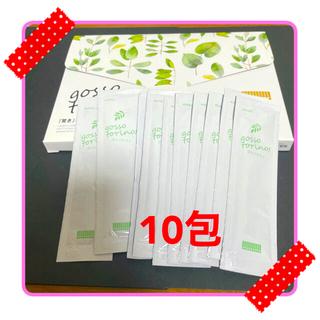 ゴッソトリノ マウスウォッシュ 10包 【新品•未使用】③