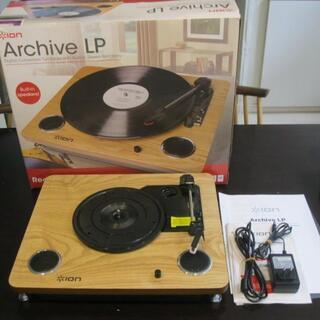 値引!レコードプレーヤー ION  Archive LP