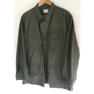 コモリ(COMOLI)の極美品 US Army Jungle Fatigue Jacket 4th(ミリタリージャケット)