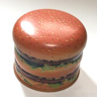 マクドナルド - レトロ マクドナルド かわいいビッグマックのデザイン缶